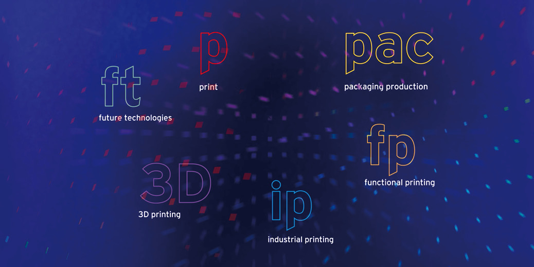 drupa 2020 printing technologies logo corporate design highlights