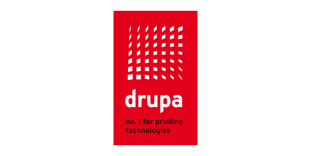 drupa 2020 printing technologies logo corporate design